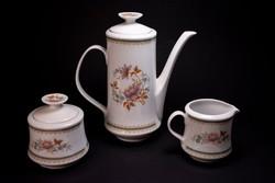 3 részes retro Alföldi porcelán kiöntők
