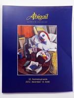 Abigail festmény árverés  katalógus 2012