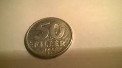 1988-as 50 Fillér .