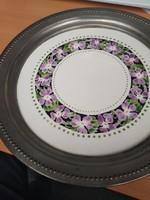 Német kerámia - ón tányér (1914)