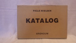 Palle Nielsen Katalog dedikációkkal