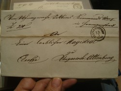 EX OFFO levél..szép bélyegzések!!