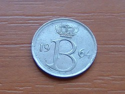 BELGIUM BELGIQUE 25 CENTIMES 1964