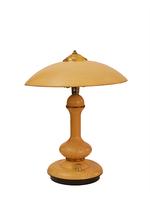 Szép formájú, dimmelhető, vintage asztali lámpa