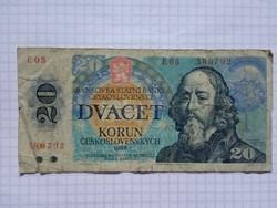 Csehszlovák 20  Korona 1988  !!