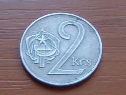 CSEHSZLOVÁKIA 2 KORONA 1972