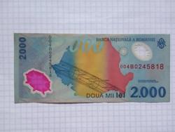 Románia 2000 Lei 1999 !!