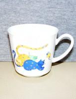 Kaiser porcelán cicás csésze