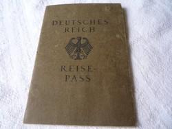 Reich Reisepass.
