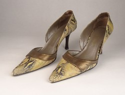 0V540 Kígyóbőr mintás Cango Rinaldi női cipő 38-as