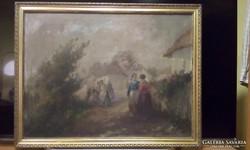 Ács Ágoston eredeti festmény örök garanciával