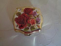 Rózsás ékszertartó dobozka