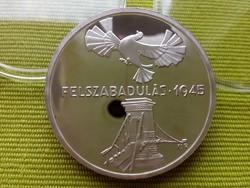 Felszabadulás 1945 ezüst 200 FORINT 1975 pp/id 3107/