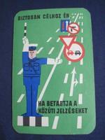 1965. Kártyanaptár - Állami Biztosító 2.