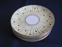 Wallendorf art deco kistányer teás kávés készlethez 6 db.
