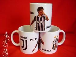Paulo Dybala Juventus bögre