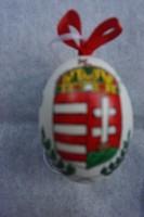 Hímes kacsatojás koronás magyar címerrel kapható.