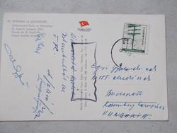 1963.Mészáros József, FTC labdarugo,edző,aláirasai
