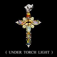 Valodi Tuz Opal (Etiopiabol) es Citrin 925 Ezust Medal