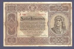 100 Korona 1920 A008