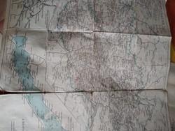 Nagy Magyarország vasút térképe