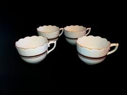 Herendi 4 db mokkáscsésze kávés csésze