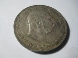 2 ezüst korona  1912  . osztrák  27  mm