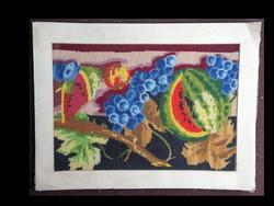 Nagyméretű Gobelin kép:Gyümölcsök
