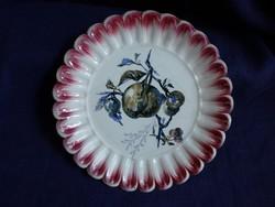 Wilhelmsburg antik fajansz tányér 20 cm