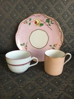 Herendi, Rosenthal és Budapest porcelánok