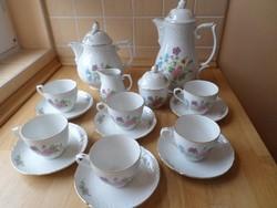 Schumann Arzberg Bavaria porcelán teás-kávés készlet 6 személyre