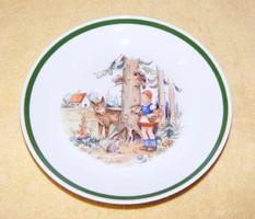 Piroska és a farkas Kahla porcelán tányér