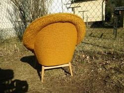 Retro kagylófotel - szép formájú fotel a 60-as évekből