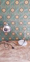 ART-DECO márványtalpas asztali lámpa