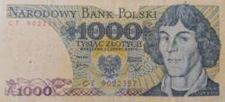 Lengyelország 1000 Zloty 1979
