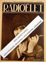 1930 március 21  /  RÁDIÓÉLET  /  RÉGI EREDETI ÚJSÁG Szs.:  7104