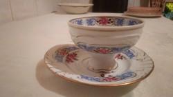 PMP 1817-as jelzésű porcelán csésze kistányérral