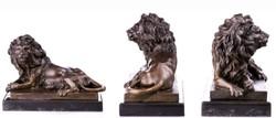 Pihenő oroszlán - Tekintélyes műalkotás