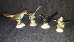 Antik porcelán madarak
