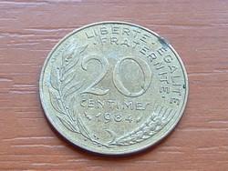 FRANCIA 20 CENTIMES 1984