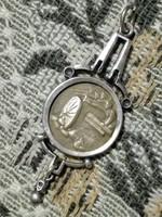 Ezüst ékszer, függő - Auguszta alap, krasniki csata, ezüst ékszer - függő, bronz emlékéremmel eladó.