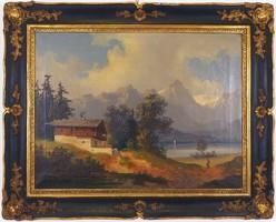 19. századi osztrák tájkép