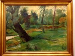 Abonyi Tivadar (1887-1968)! Zennyei Tájkép