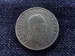 II. Ferenc ezüst 20 Krajcár 1834 B/id 6066/