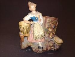 Antik terrakotta figuráns szobor - EP