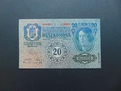 20 korona 1913 Szép ropogós bankjegy  01