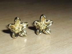 Milano Brizzi márkás Arany Virág fülbevaló