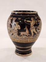 Váza, Hand made in Greece 24K gold