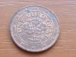 AUSZTRIA OSZTRÁK 5 EURO CENT 2002