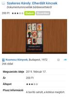 Szekeres Károly - Elherdált kincsek